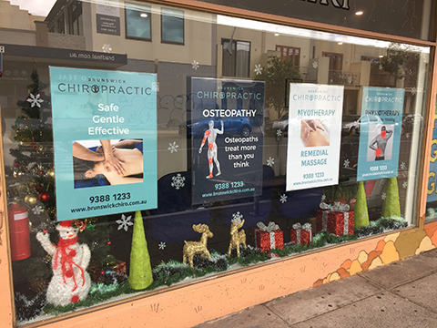 Christmas comes to Brunswick Chiro