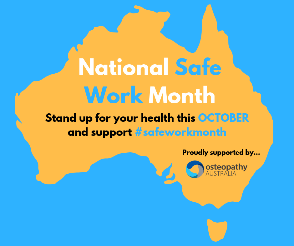 October is National Safe Work Month